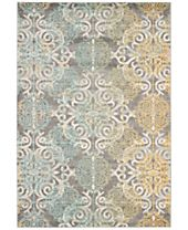 CLOSEOUT! Safavieh Evoke EVK230D Grey/Ivory Area Rugs