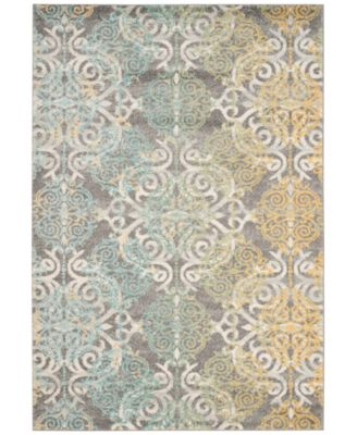 Good Safavieh Evoke EVK230D Grey/Ivory 9u0027 X 12u0027 Area Rug