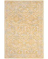 CLOSEOUT! Safavieh Evoke EVK242S Ivory/Gold Area Rugs