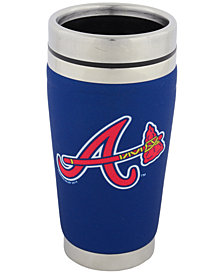 Hunter Manufacturing Atlanta Braves 16 oz. Stainless Steel Travel Tumbler