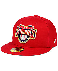 New Era Washington Nationals Banner Patch 59FIFTY Fitted Cap