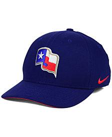 Nike Texas Rangers Ligature Swoosh Flex Cap