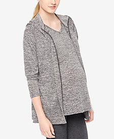 Motherhood Maternity Hooded Cardigan
