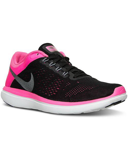 714a5e71faff8 Nike Women s Flex 2016 RN Running Sneakers from Finish Line ...