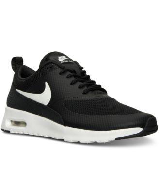 nike women's air max thea running shoe black