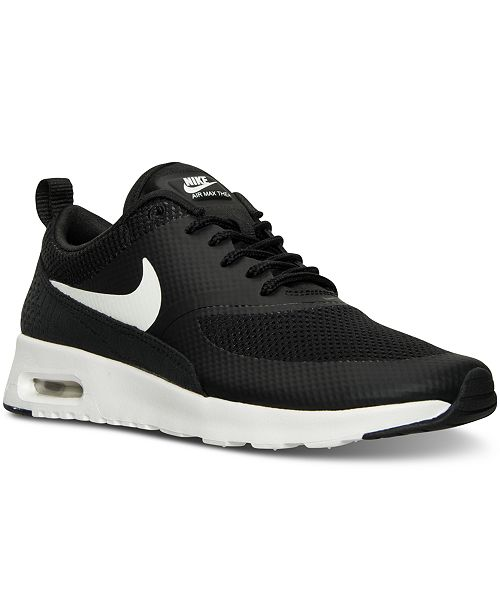 the best attitude 1ab75 63188 ... Nike Womens Air Max Thea Running Sneakers from Finish ...
