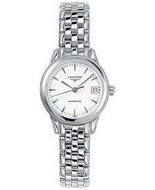 Women's Swiss Automatic Flagship Stainless Steel Bracelet Watch 26mm L42744126