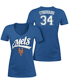 5th & Ocean Women's Noah Syndergaard New York Mets Foil Player T-Shirt