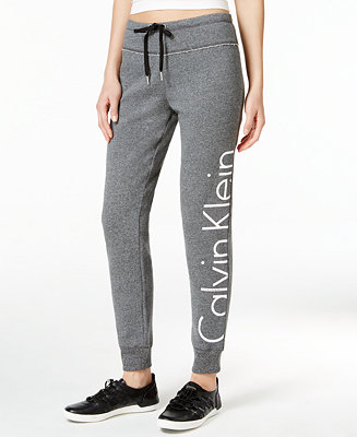 Calvin Klein Logo Sweatpants Amp Reviews Pants Amp Capris