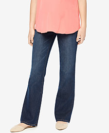 Motherhood Maternity Dark Wash Boot-Cut Jeans