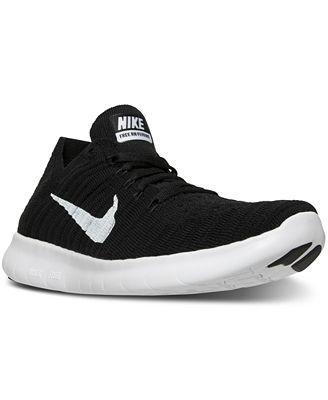 Nike Women's Free RN Flyknit Running Sneakers from Finish Line