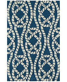 "Macy's Fine Rug Gallery Seaside SE10 Baltic 5'X7'6"" Area Rug"
