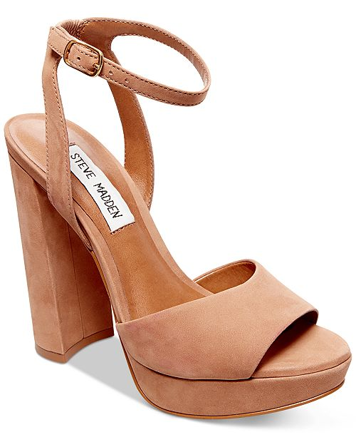 252defba347 Steve Madden Women s Brit Platform Sandals   Reviews - Sandals ...