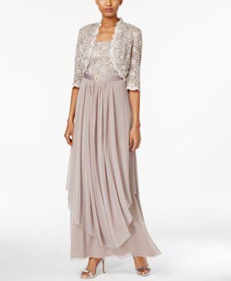 The Mother of Groom Dresses Tea Length Handkerchief Hem