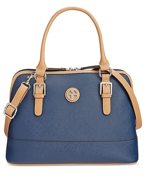 0f9c2a34ccce ... Giani Bernini Saffiano Dome Satchel