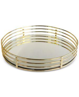 Circle Mirrored Tray 2831648
