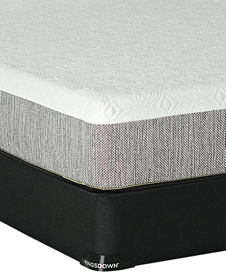 """Macybed Lux by Kingsdown 10"""" Cushion Firm Mattress Sets"""