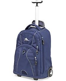 High Sierra Freewheel Rolling Backpack
