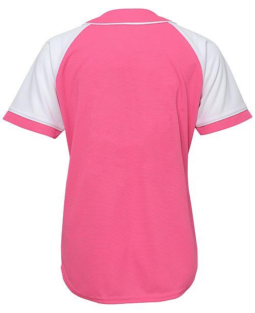 f4cde6395cb Majestic Girls  St. Louis Cardinals Pink Fashion Jersey   Reviews ...