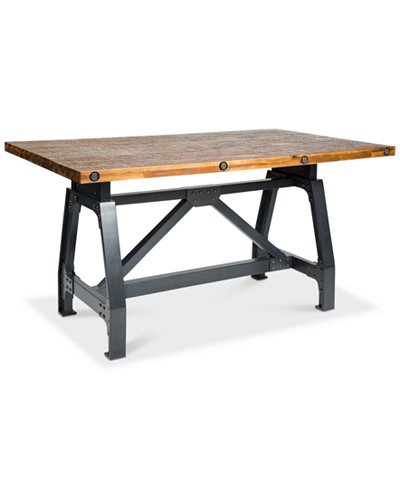Macey Dining Table, Quick Ship