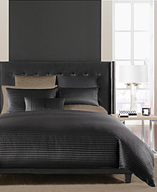 Hotel Collection Onyx Duvet Covers, Created for Macy's