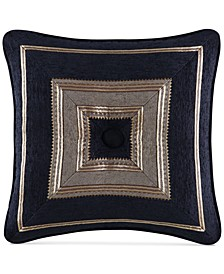 "Bradshaw Black 18"" x 18"" Decorative Pillow"