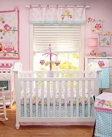 NoJo Love Birds Crib Bedding Collection