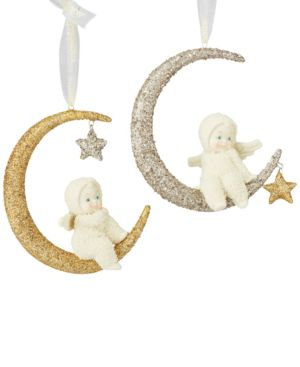 Department 56 Snowbabies Dream Moonbeam Ornament