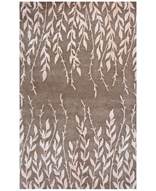 CLOSEOUT! Bob Mackie Home 1006 Beige Tranquility 5' x 8' Area Rug