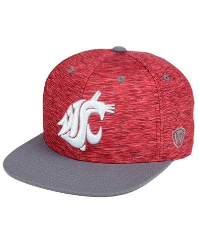 Top of the World Washington State Cougars Energy 2-Tone Snapback Cap