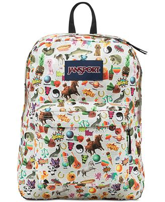 Jansport Superbreak Backpack in Multi Stickers - Backpacks ...