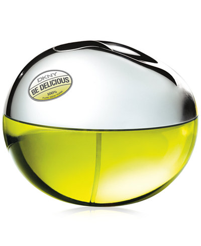 DKNY Be Delicious Eau de Parfum Spray, 3.4 oz - Fragrance ...