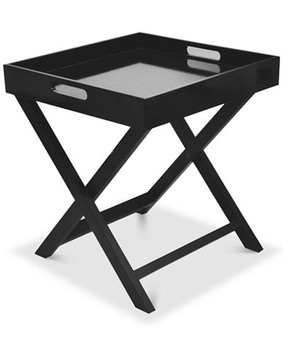 Boyde Tray Table With Removable Tray Quick Ship