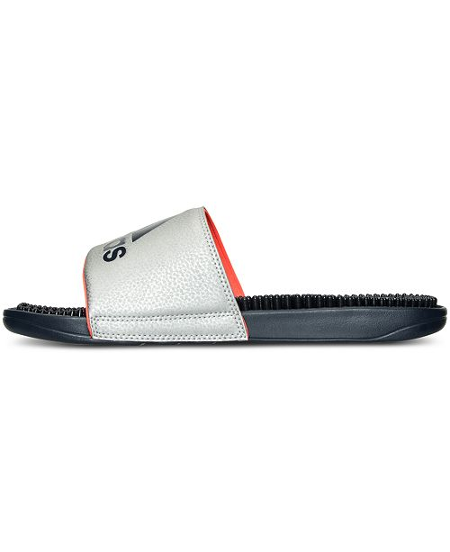 c448c85c36f4 adidas Men s Voloossage Slide Sandals from Finish Line   Reviews ...