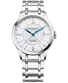 Men's Swiss Automatic Classima Stainless Steel Bracelet Watch 40mm M0A10273