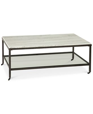 stratus rectangle coffee table, created for macy's - furniture