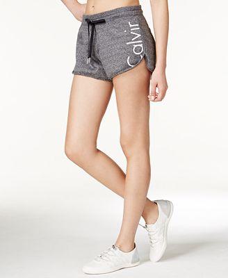Calvin Klein Performance Terry Logo Shorts - Shorts ...