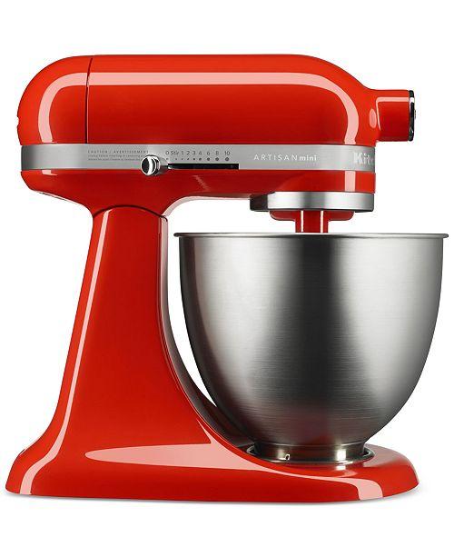 KitchenAid KSM3311X 3.5 Quart Artisan® Mini Stand Mixer - Small ...