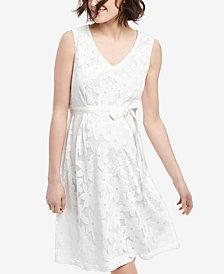 Motherhood Maternity Eyelet Dress