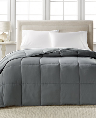 CLOSEOUT! Home Design Down Alternative Color Twin/Twin XL Comforter, Hypoallergenic, Created for Macy's