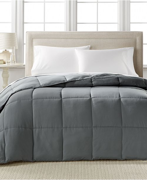 Home Design CLOSEOUT! Down Alternative Color Comforters