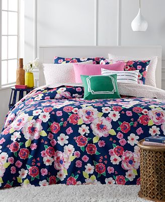 Whim by Martha Stewart Collection Fleurtatious 5-Pc. Comforter Sets, Only at Macy's