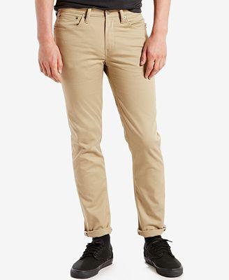 Levi's® 511™ Slim Fit Jeans- Commuter - Jeans - Men - Macy's