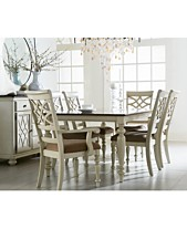 Windward 7 Pc Dining Set Table 6 Side Chairs