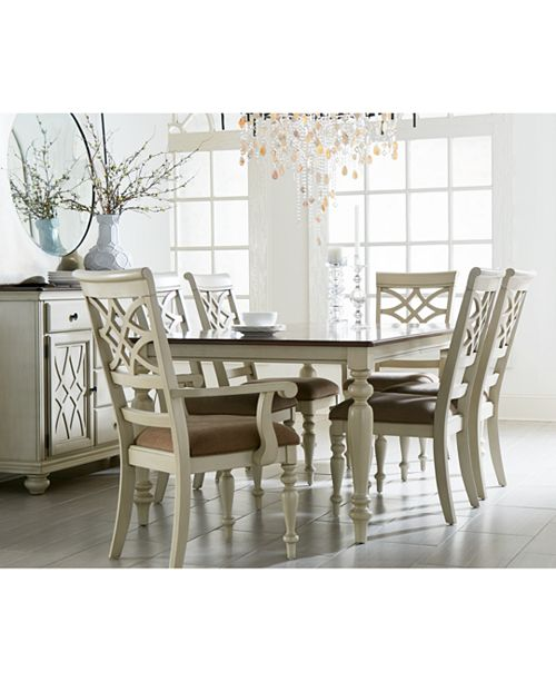 Furniture Windward 7-Pc. Dining Set (Dining Table & 6 Side Chairs)