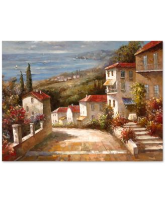 """'Home in Tuscany' Canvas Print by Joval 18"""" x 24"""""""