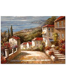 'Home in Tuscany' Canvas Print by Joval