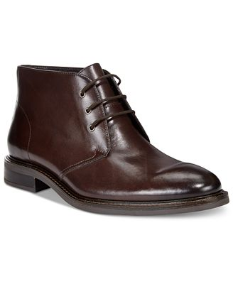 Alfani Men's Lombard Plain Toe Chukka Boots, Only at Macy's - All ...