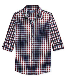 American Rag Men's Amanda Plaid Shirt, Created for Macy's