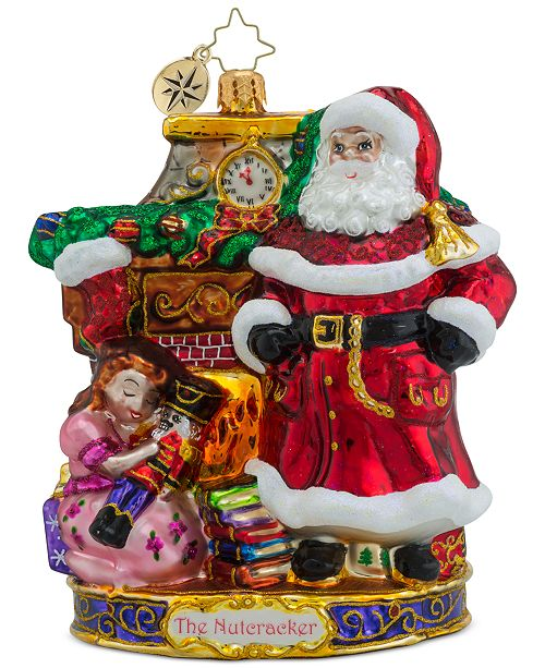 Christopher Radko My Beautiful Nutcracker Collectible Ornament